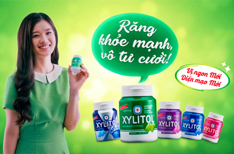 LOTTE XYLITOL - HEALTHY TEETH, CAREFREE SMILE - S