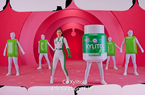 XYLITOL RAP REDUCES CAUSATIVE