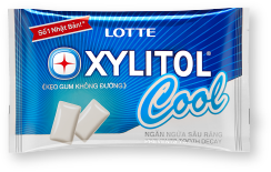 LOTTE XYLITOL Cool of the greatest refreshing sensation in XYLITOL history released