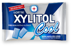 LOTTE XYLITOL Cool renewed to new design